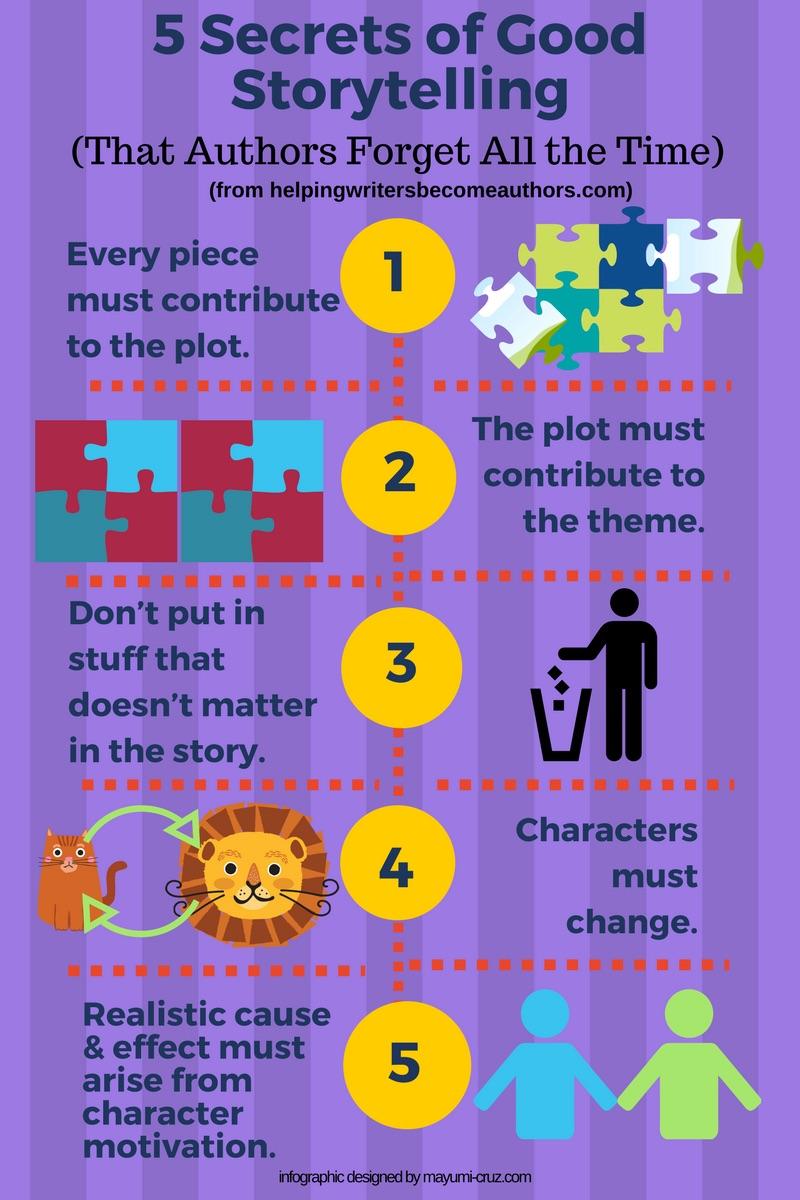 5 Secrets to Good Storytelling