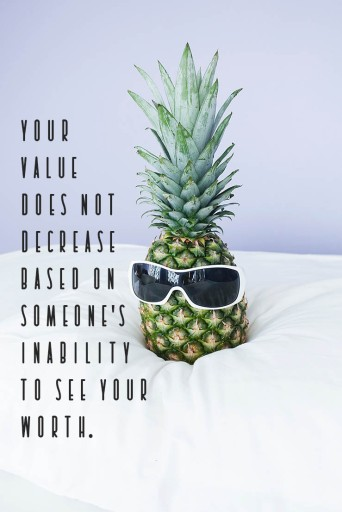 your value doesnot decrease